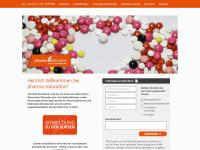 pharma-education.at Webseite Vorschau