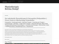 physio-oberhaching.de Webseite Vorschau