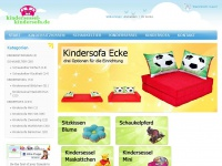 kindersessel-kindersofa.de Webseite Vorschau