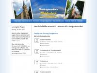 kirche-muehlenbeck-schildow.de Webseite Vorschau