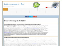 blutdruckmessgeraet-vergleich-test.de