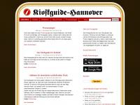 kioskguide.de Webseite Vorschau