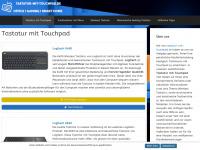 Tastatur-mit-touchpad.de