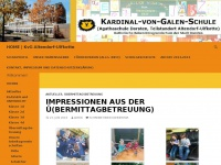 kvg-dorsten.de Webseite Vorschau