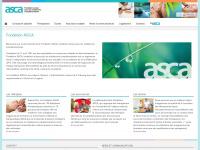 asca.ch Webseite Vorschau