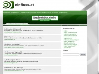 einfluss.at