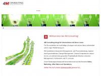 4mconsulting.de Webseite Vorschau