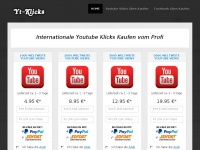 yt-klicks.de Webseite Vorschau