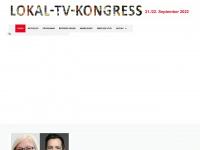 lokal-tv-kongress.de Webseite Vorschau