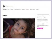 kindertraenen.org Webseite Vorschau