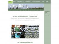 ampelkönig.de Webseite Vorschau