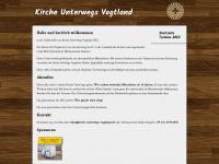 kirche-unterwegs-vogtland.de Webseite Vorschau