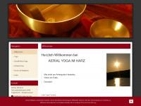 aerial-yoga-harz.de Webseite Vorschau