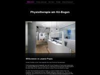 physiotherapie-koebogen.de Webseite Vorschau