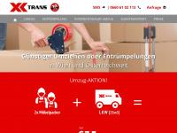 xtrans.at Webseite Vorschau
