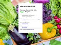 vegan-werden.de Webseite Vorschau