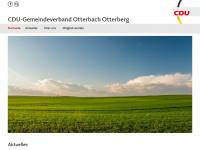 cdu-otterbach-otterberg.de Webseite Vorschau