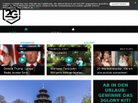 2glory.de Webseite Vorschau