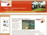 kipepeo-afrika.de Webseite Vorschau
