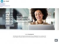 ki-test.com Webseite Vorschau