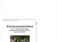 kirchen-im-laendereck.de Webseite Vorschau