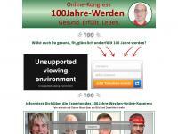 100jahre-werden.com Webseite Vorschau