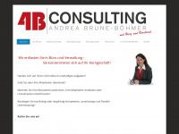 4bconsulting.jimdo.com Webseite Vorschau