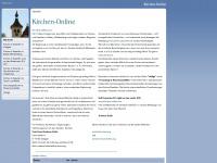 kirchen-online.org Webseite Vorschau