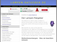 lampen-ratgeber.de
