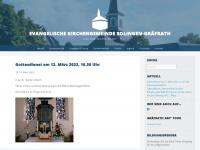 kirchegraefrath.de Webseite Vorschau