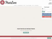 photoloveprints.com Webseite Vorschau