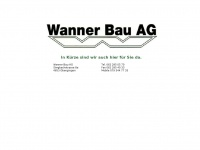 Wannerbau-ag.ch