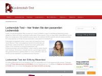 lockenstab-test.com Webseite Vorschau