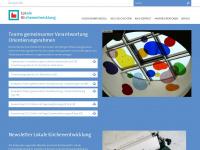lokale-kirchenentwicklung.de Webseite Vorschau