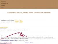 physiotherapie-mai.de Webseite Vorschau
