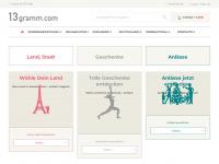 13gramm.com Webseite Vorschau