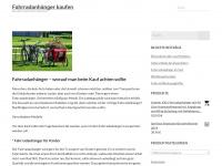 Fahrradanhaenger-kinder.de