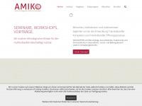 amiko-institut.de Webseite Vorschau