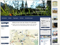 1a-privathotels-koeln.de Webseite Vorschau