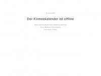 kirmeskalender.de Webseite Vorschau