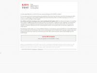 kids-test.org Webseite Vorschau