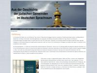 jüdische-gemeinden.de Webseite Vorschau