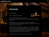 jazzbuehne-lech.at Webseite Vorschau