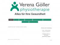 physio-goeller.de Webseite Vorschau