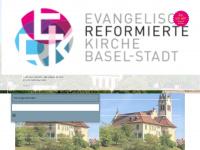 erk-bs.ch Webseite Vorschau