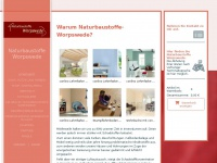 naturbaustoffe-worpswede.de Webseite Vorschau