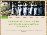 loisachgau.de Webseite Vorschau