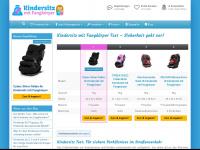 kindersitz-mit-fangkoerper.de Webseite Vorschau