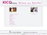 kico-marketing.at Webseite Vorschau