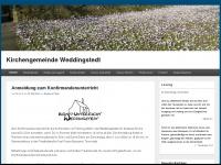 kirche-weddingstedt.de Webseite Vorschau